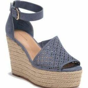 "14th & Union new ""theryn-fab"" blue espadrille"